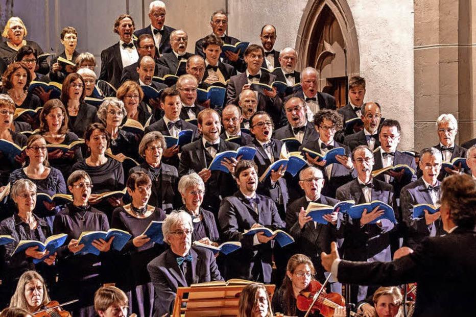 Freiburger Oratorienchor in Hinterzarten - Badische Zeitung TICKET