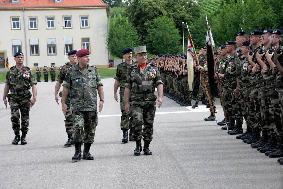Deutsch-Französische Brigade - Müllheim