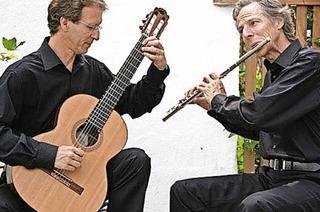 Wolfgang Schubart und Thomas Kolkaus in Breitnau
