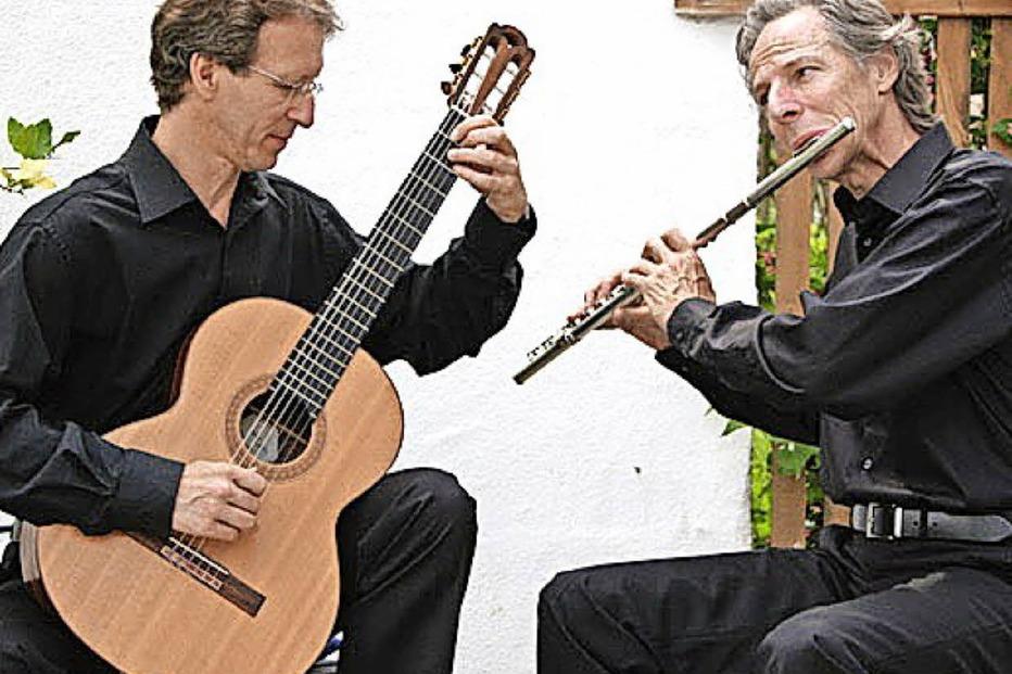 Wolfgang Schubart und Thomas Kolkaus in Breitnau - Badische Zeitung TICKET