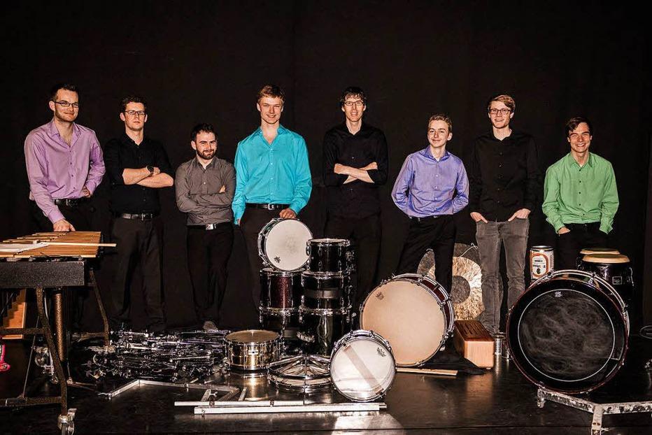 Black Forest Percussion Group spielt am Montag im E-Werk - Badische Zeitung TICKET