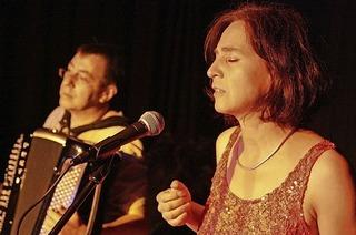 Chancons und Akkordeon (Vera Maier und Thomas Allgeier) in St. Blasien