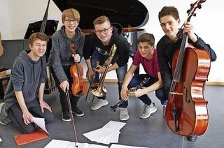 Schüler der Musikschule in Emmendingen und Herbolzheim