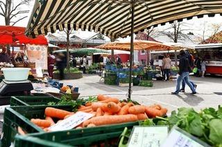 Auf dem St. Georgener Markt gibt es viele fair gehandelte Produkte