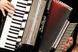Mit dem Akkordeon- und Harmonikaclub Neustadt in Titisee-Neustadt
