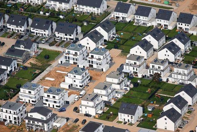 Reihen- und Doppelhäuser: Das gleiche Haus für viele Käufer