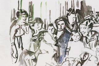 Martin Brodwolf zeigt Malerei und Zeichung in der Galerie Stahlberger in Weil am Rhein