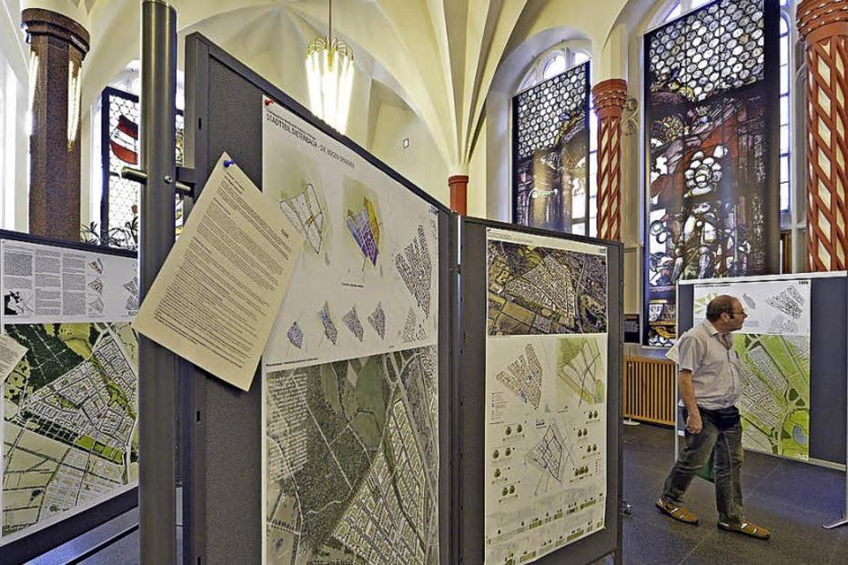 Architektur Freiburg dietenbach gelände freiburg ausstellung der architektur modelle zum