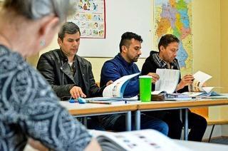 Zu Besuch bei einem Deutschkurs für Flüchtlinge in Freiburg