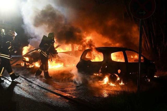 Der nächste Autobrand in der Ortenau