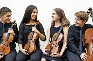 Alcina Quartett mit jungen Talenten in Grenzach-Wyhlen