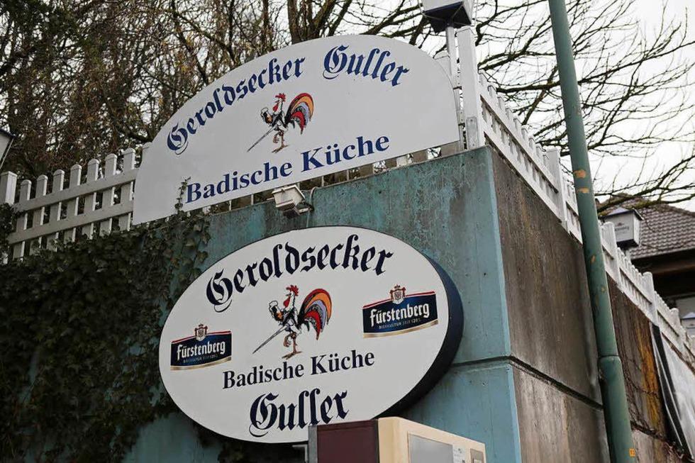 Geroldsecker Guller (geschlossen) - Lahr
