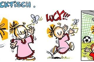Lucy Backfisch: Schmetterlingsjagd endet mit Tor