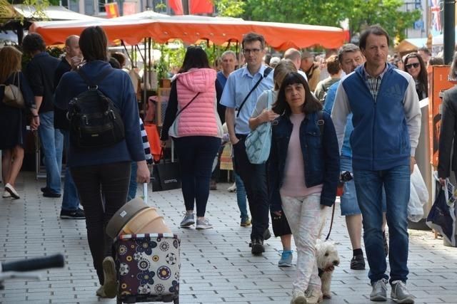 Die Lörracher Innenstadt bleibt die Zugnummer
