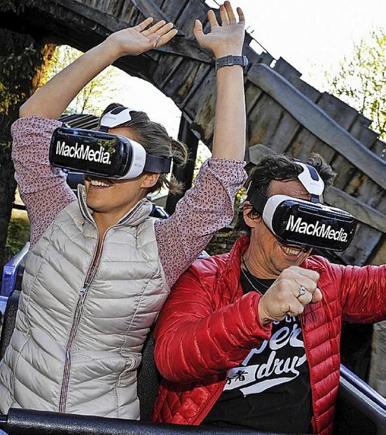 Virtuelle Realität im Europa-Park Rust - Badische Zeitung TICKET