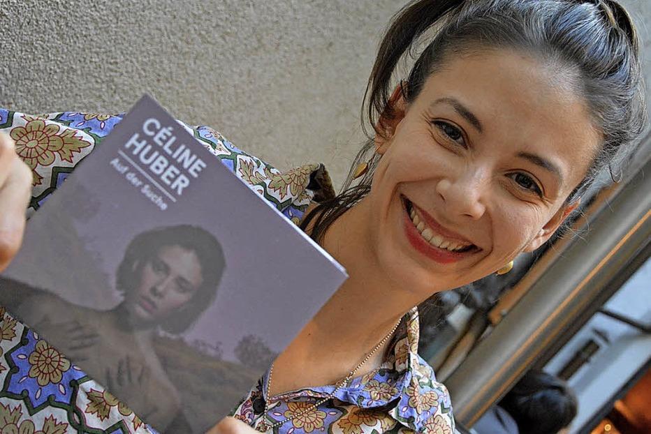 """Céline Huber stellt im Nellie Nashorn in Lörrach neue CD """"Auf der Suche"""" vor - Badische Zeitung TICKET"""