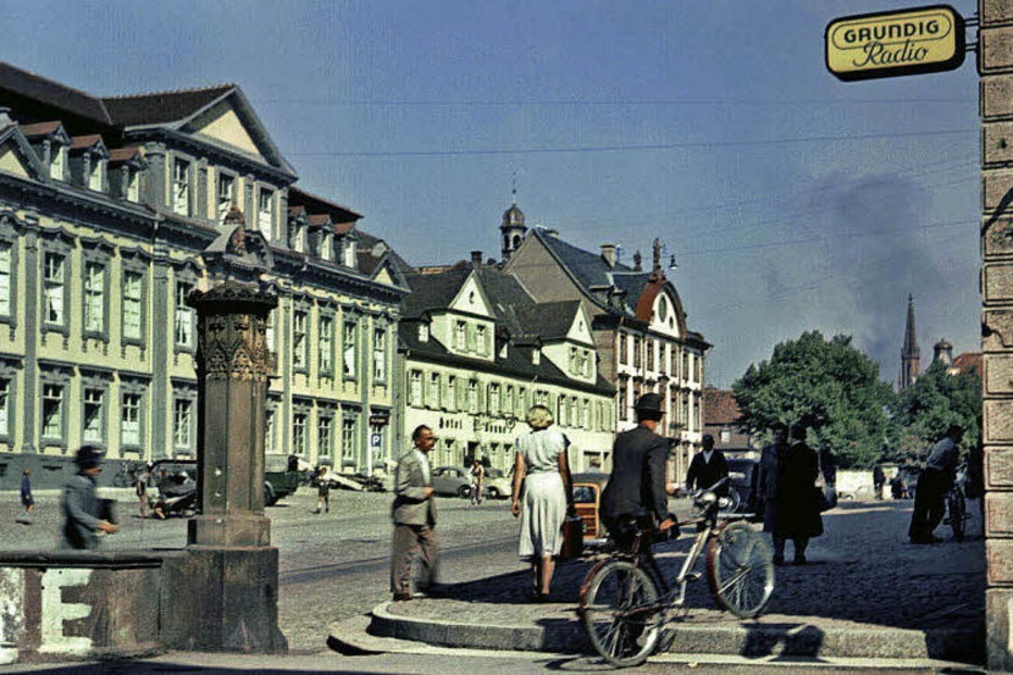 Offenburg-Fotos der Leica-Pioniere Paul Wolff und Alfred Tritschler als Postkarten - Badische Zeitung TICKET