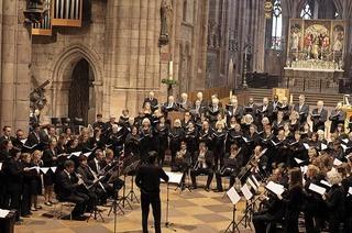 Pfingsten im Münster