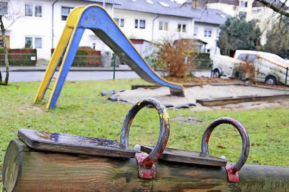 Spielplatz Scheffelstraße - Steinen