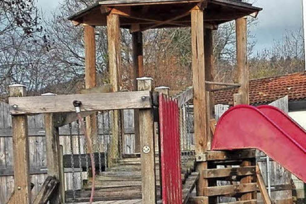 Spielplatz im Wolfischbühl - Steinen