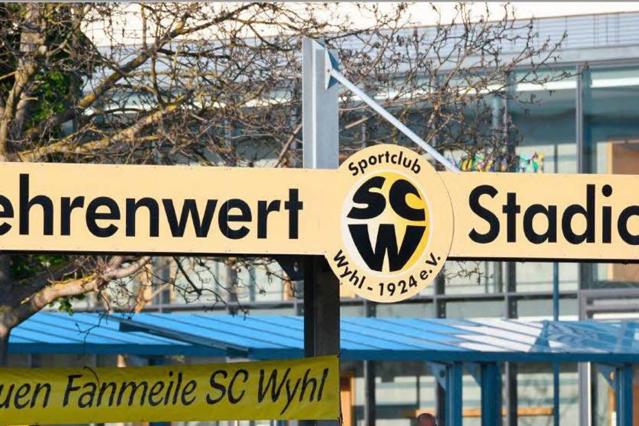 Stadiongaststätte Fehrenwert (SC Wyhl) - Wyhl am Kaiserstuhl