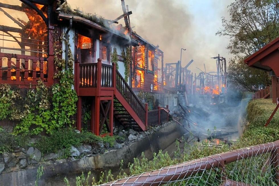 Feuer im Europa-Park zerstört Batavia-Attraktion und Teil des Skandinavien-Bereichs - Badische Zeitung TICKET