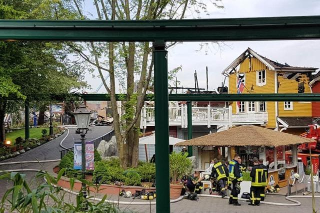 Nach dem Großbrand: Europa-Park öffnet am Sonntag normal
