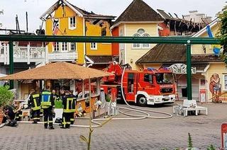 Am Tag nach dem Brand soll im Europa-Park das Vergnügen weitergehen