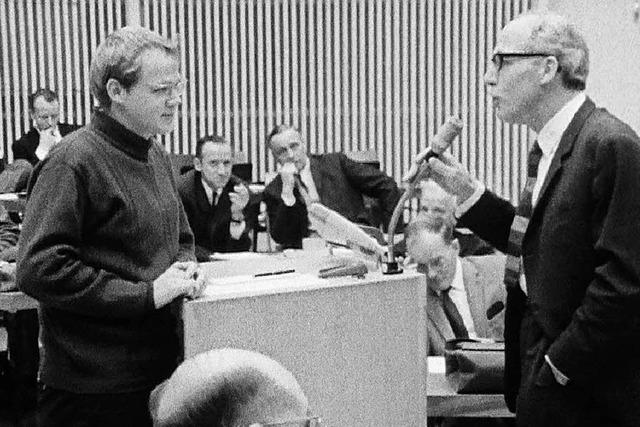 1968 kam ein Ulmer Dokumentarfilmer an die Freiburger Uni – seine Filme sind jetzt zu sehen