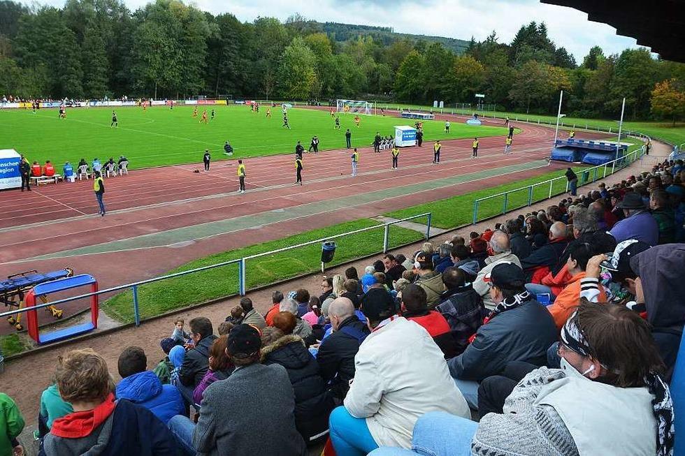 Stadion Dammenmühle - Lahr