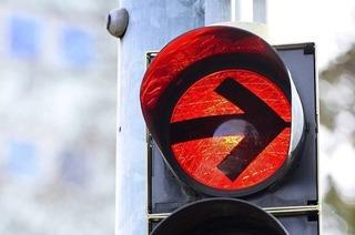 Ampelausfall an der Autobahnausfahrt Freiburg-Nord sorgte für Stau bis Riegel