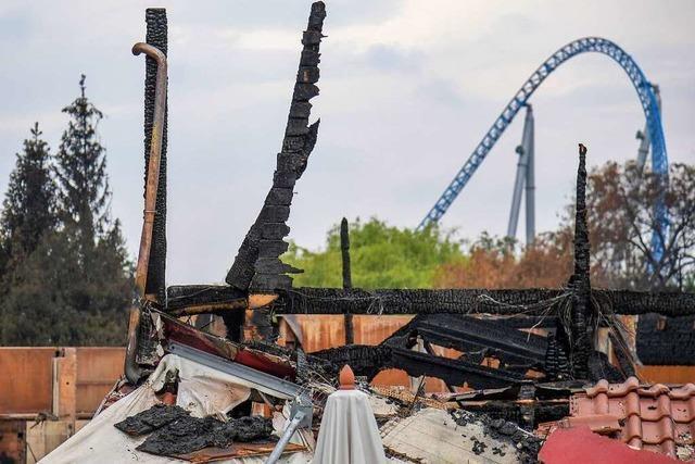 Brand im Europa-Park: Ermittler gehen von technischem Defekt aus
