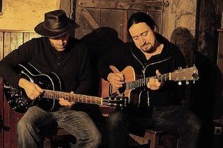 Acoustic-Blues'n'Rock mit Daniel Kiefer und Marc Mayer im Rathauscafé in Efringen-Kirchen