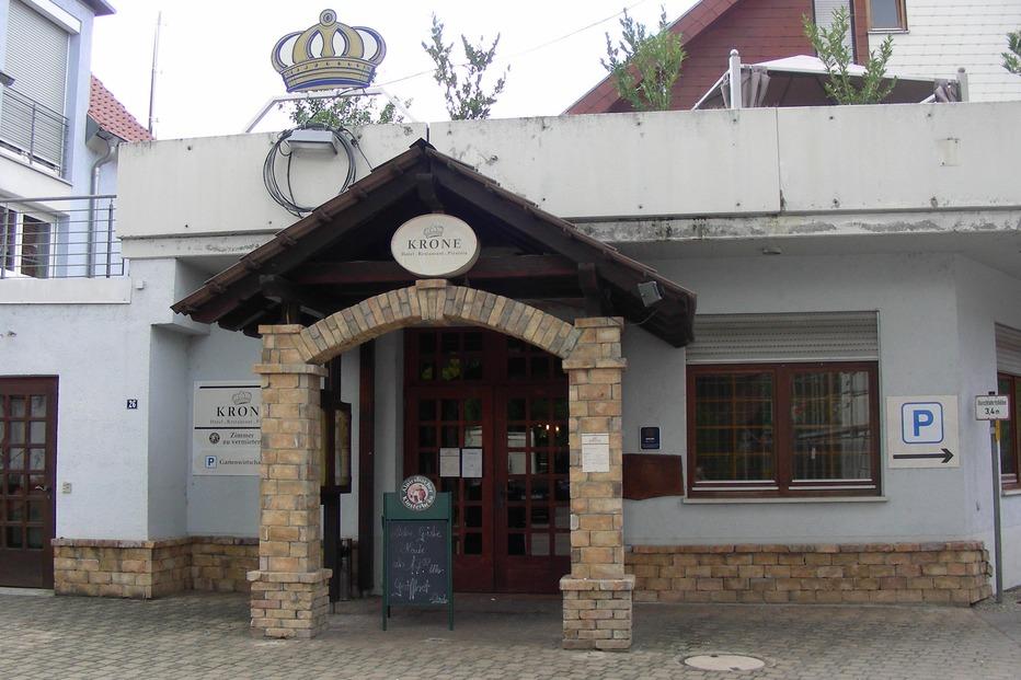 Gasthaus-Pizzeria Krone Neuershausen (geschlossen) - March