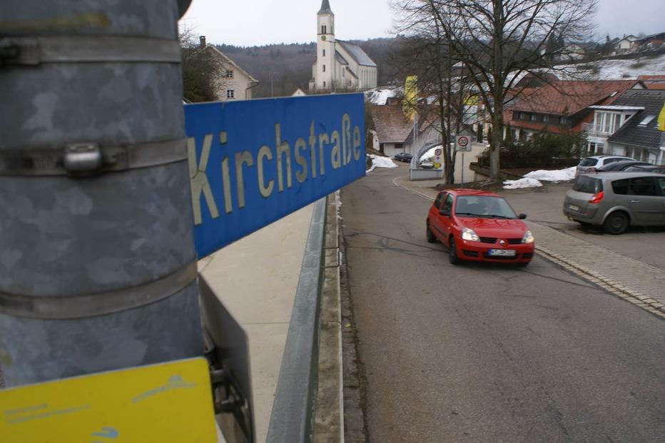 Kirchstraße - Rickenbach