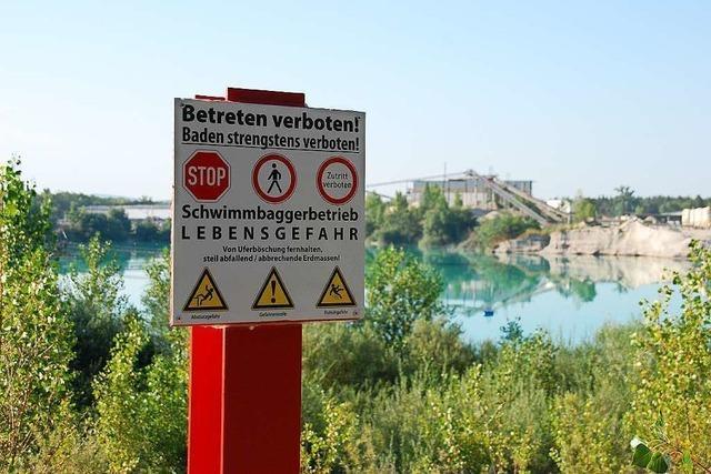 Baggersee Grißheim