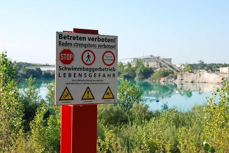 Baggersee Grißheim - Neuenburg am Rhein