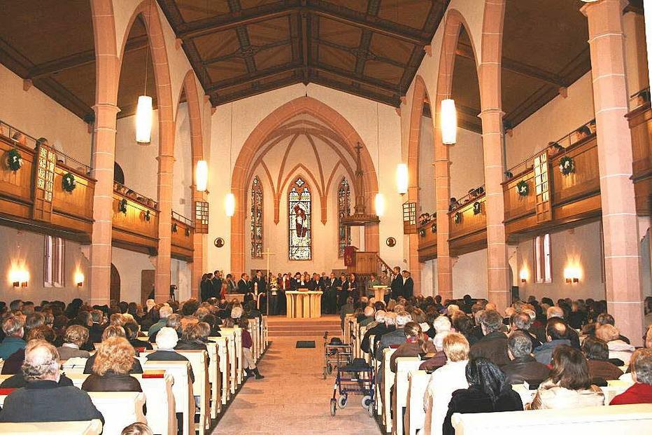 Evangelische Kirche - Eichstetten