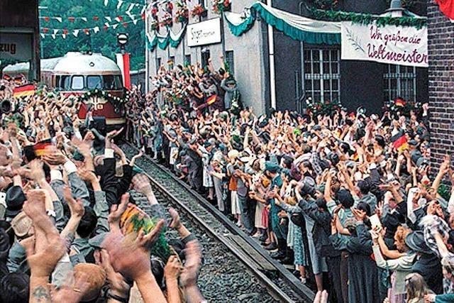 Wie der Sportverein Jestetten 1954 den Zug mit den Fußball-Weltmeistern stoppte