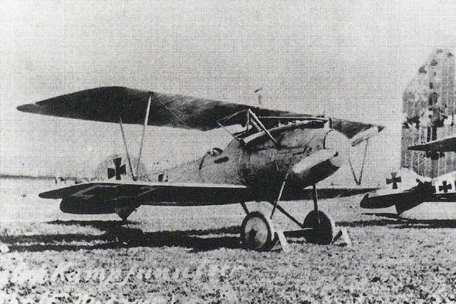 Vor 100 Jahren wurde über Nonnenweier ein alliierter Kampfflieger abgeschossen