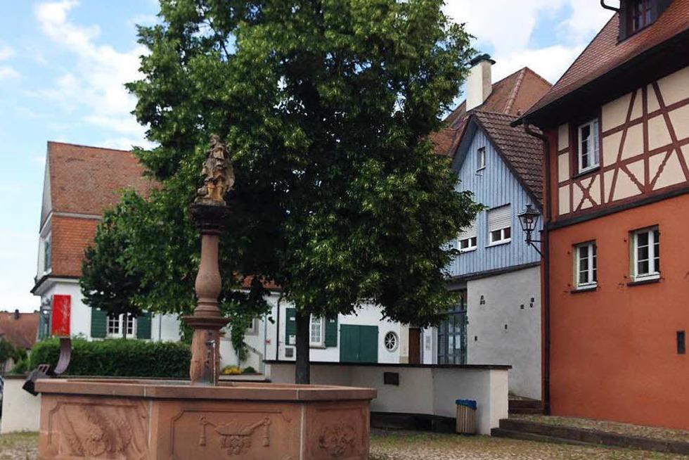 Stockbrunnenplatz - Ihringen