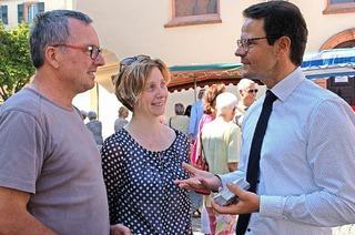 Marco Steffens eröffnet den Wahlkampf um den Rathauschefsessel