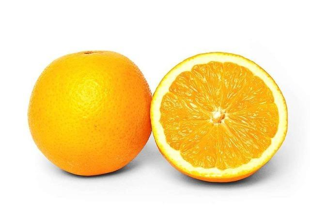 Für starke Knochen: die Orange