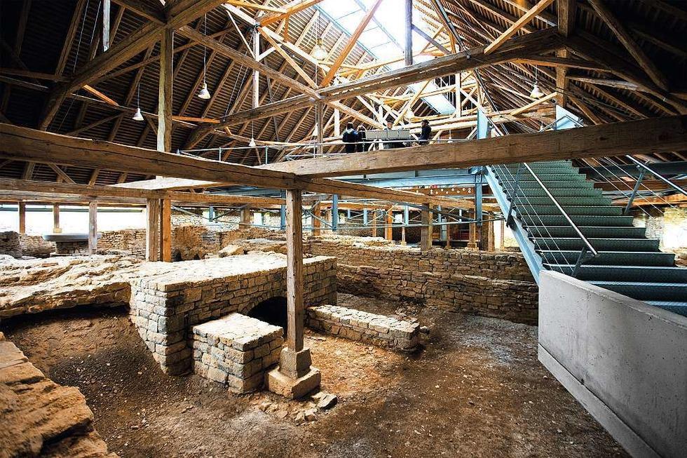 Römische Bad-Ruine - Hüfingen