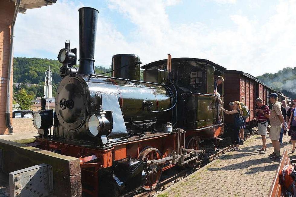 Kandertalbahn (Bahnhof Haltingen) - Weil am Rhein