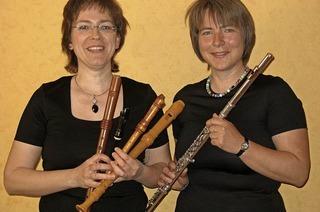 """""""Fiesta Italiana"""" mit Ulrike Wettach-Weidemaier , Sonja Kanno-Landoll und Ekkehard Weber in Freiamt"""
