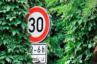 Darf man ein nicht erkennbares Verkehrsschild einfach ignorieren?