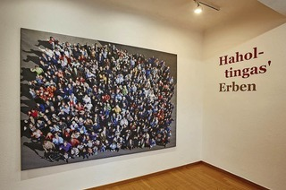 """Ausstellung """"Haholtingas' Erben"""" in Weil am Rhein geht zu Ende"""