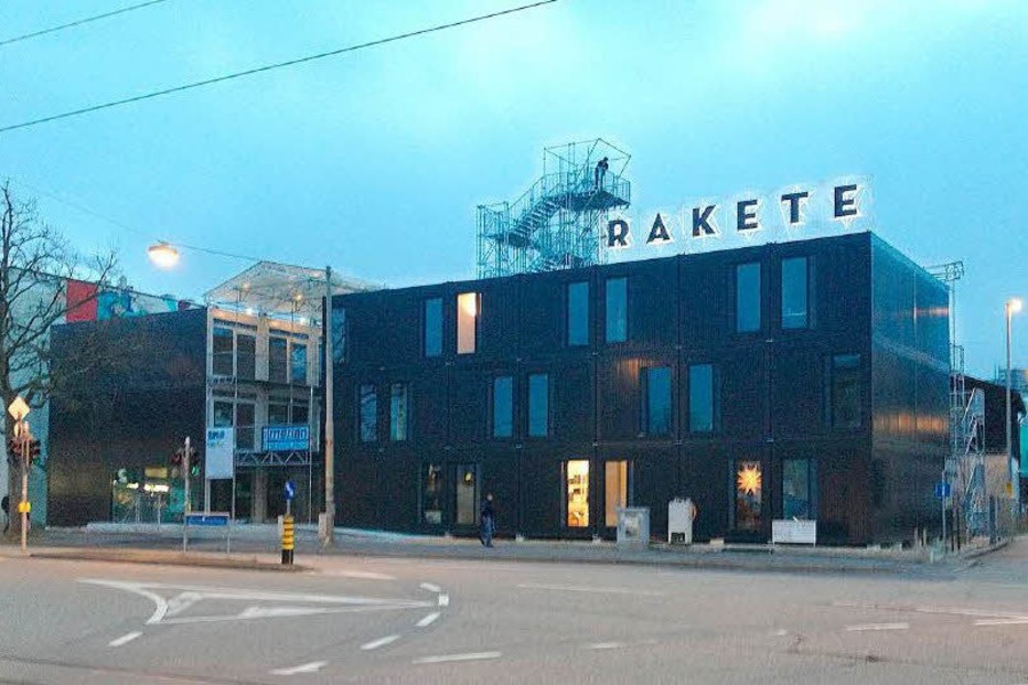 Rakete (Dreispitz - Basel