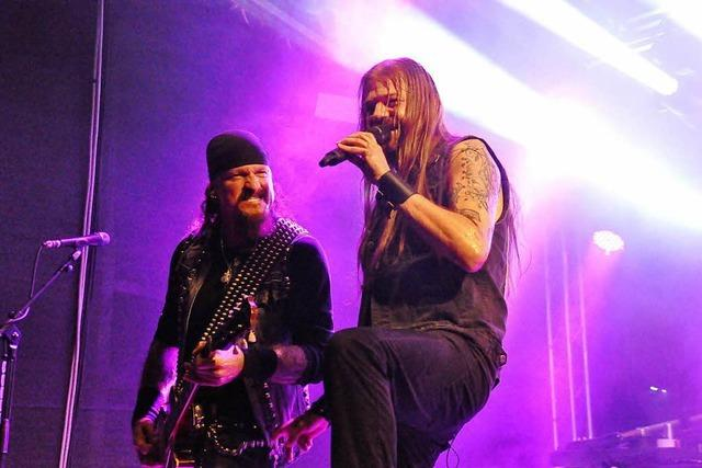 Iced Earth als Headliner beim Baden-in-Blut-Open-Air in Weil